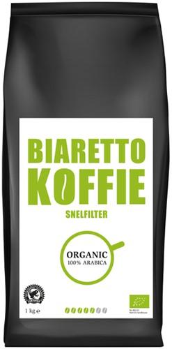 KOFFIE BIARETTO SNELFILTERMALING BIOLOGISCH 1000 Gram
