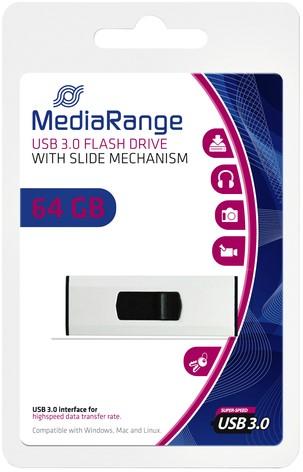 USB-STICK MEDIARANGE 3.0 64GB 1 Stuk