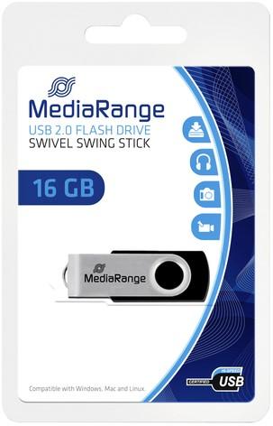 USB-STICK MEDIARANGE 2.0 16GB 1 Stuk