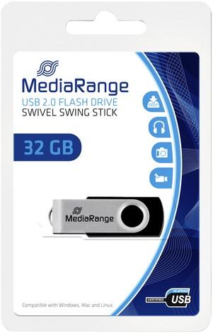 USB-STICK MEDIARANGE 2.0 32GB 1 Stuk
