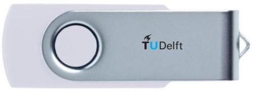 USB-STICK TUDELFT 8GB 1 Stuk