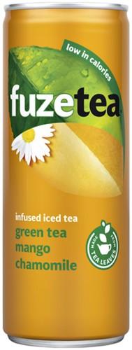 Frisdrank Fuze Tea mango chamomile 250ml 25 Centiliter