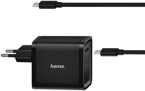 ADAPTER HAMA UNIVERSEEL NOTEBOOK USB-C 5-24V 45W 1 Stuk