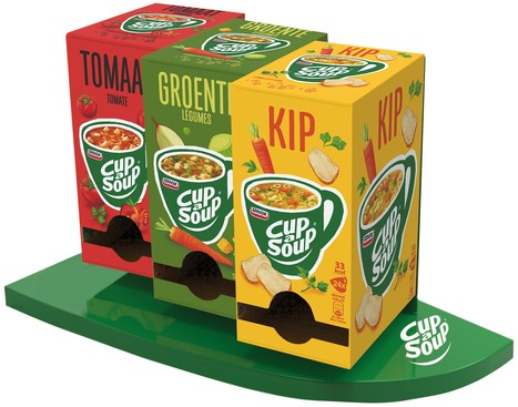 Display Docking Station (3-pack Cup-a-Soup) 1 Stuk