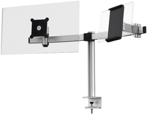 MONITORARM DURABLE DUBBEL SCHERM/TABLET MET KLEM 1 Stuk