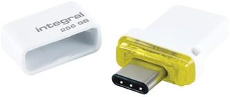 USB-stick Integral 3.1 USB-C Fusion Dual 256GB 1 Stuk