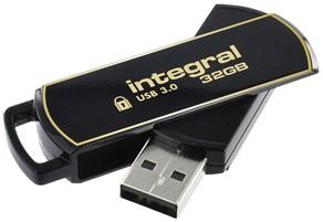 USB-stick Integral 3.0 Secure 360 32GB zwart 1 Stuk