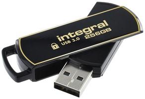 USB-stick Integral 3.0 Secure 360 256GB zwart 1 Stuk