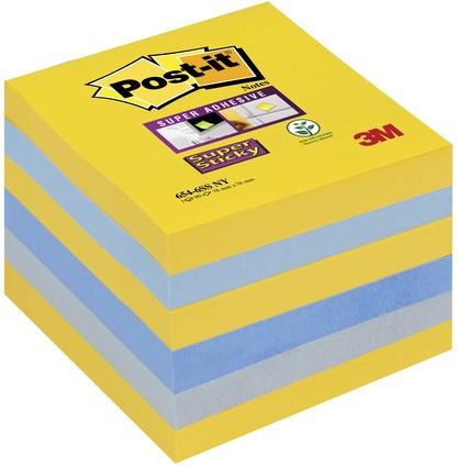 MEMOBLOK POST-IT SUPER STICKY 654 76X76 NEW YORK 6 Stuk