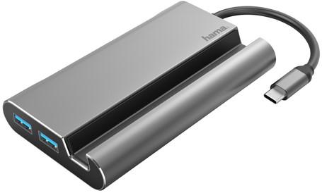 DOCKINGSTATION HAMA 3.1 USB-C 7IN1 1 Stuk