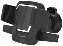 HOUDER HAMA SMARTPHONE VENT 5.5-8.5CM ZWART 1 Stuk