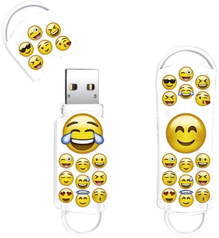 USB-STICK INTEGRAL 64GB 2.0 EMOJI 1 Stuk