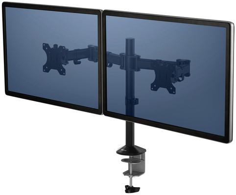 MONITORARM FELLOWES REFLEX SERIES DUAL ARM 1 Stuk