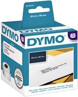 LABEL ETIKET DYMO 99010 89MMX28MM ADRES 2 ROL-2