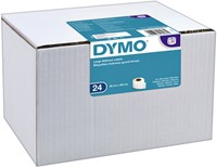 LABEL ETIKET DYMO 13187 89MMX36MM ADRES WIT 24 ROL-2