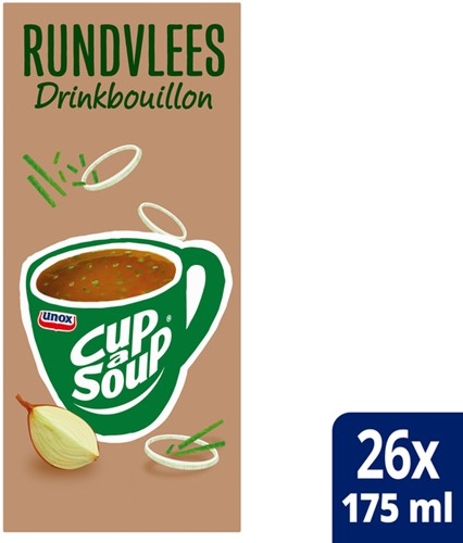 CUP A SOUP HELDERE BOUILLON RUNDERBOUILLON 26 Zak