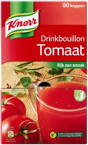 DRINKBOUILLON KNORR TOMAAT 80 Stuk