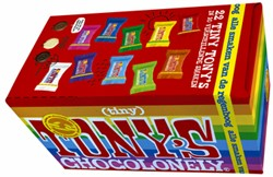 TONY'S CHOCOLONELY TINY MIX 200GR 22 STUK