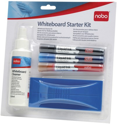 STARTERKIT NOBO WHITEBOARD 1 Set