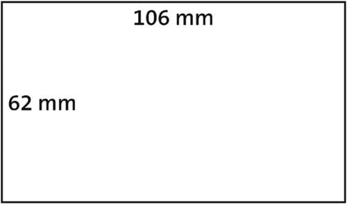 LABEL ETIKET DYMO 62MMX106MM BADGE NZK WIT 250 STUK-4