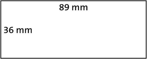LABEL ETIKET DYMO 99013 36MMX89MM ADRES TRANSP 260 STUK-2
