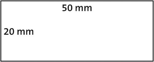LABEL ETIKET DYMO 99017 50MMX12MM RUITER WIT 220 STUK-1