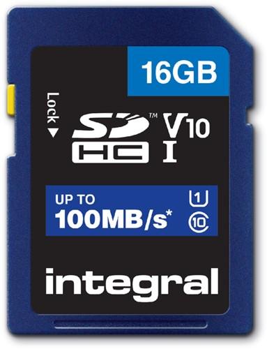 GEHEUGENKAART INTEGRAL SDHC V10 16GB 1 Stuk