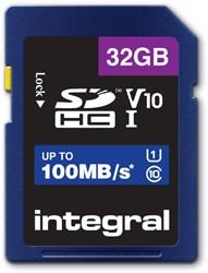 GEHEUGENKAART INTEGRAL SDHC V10 32GB 1 STUK