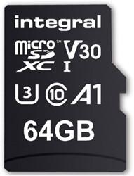 GEHEUGENKAART INTEGRAL MICRO V30 64GB 1 STUK