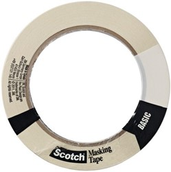 AFPLAKTAPE 3M SCOTCH BASIC 18MMX50M 1 STUK
