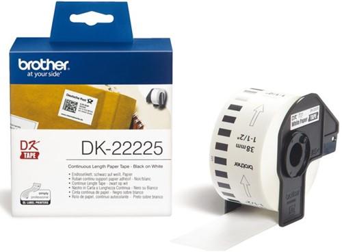 LABEL ETIKET BROTHER DK-22225 38MMX30.48M THERM WT 30.48 METER