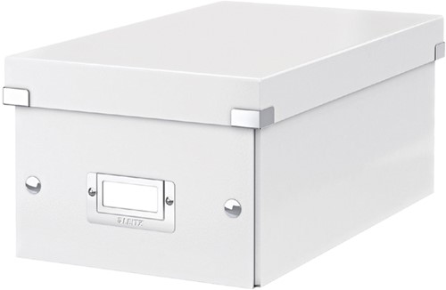 DVD-BOX LEITZ CLICK&STORE 206X147X352MM WIT 1 Stuk