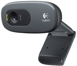WEBCAM LOGITECH C270 HD 720P ZWART 1 STUK