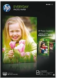 FOTOPAPIER HP Q2510A A4 200GR SEMI GLANS 100 VEL