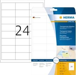 ETIKET HERMA 4681 66X33.8MM TR 600ST 25 VEL