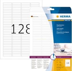 ETIKET HERMA 5071 43.2X8.5MM DIA A4 3200ST WIT 25 VEL