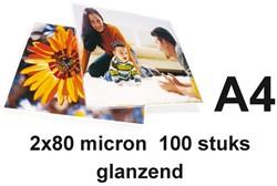 LAMINEERHOES GBC A4 2X80MICRON 100 STUK