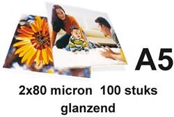 LAMINEERHOES GBC A5 2X80MICRON 100 STUK