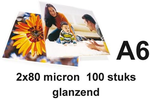 LAMINEERHOES GBC A6 2X80MICRON 100 STUK