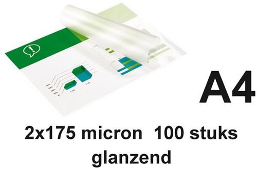 LAMINEERHOES GBC A4 2X175MICRON 100 STUK