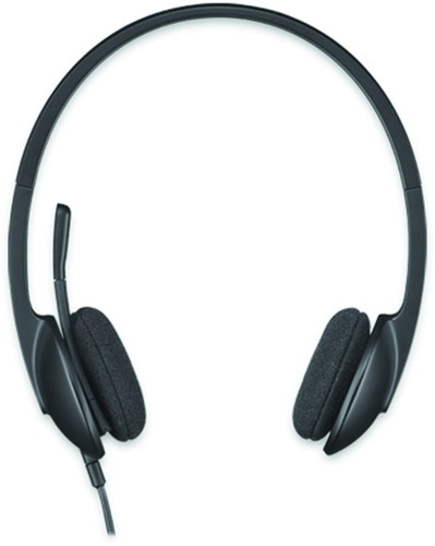 HEADSET LOGITECH H340 ON EAR USB ZWART 1 Stuk