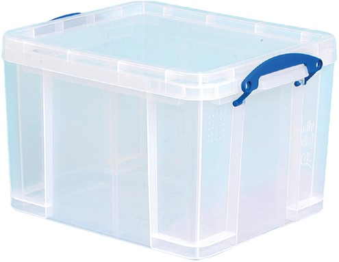 OPBERGBOX REALLY USEFUL 35LITER 480X390X310MM 1 Stuk