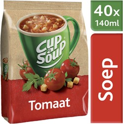 CUP A SOUP TBV DISPENSER TOMAAT 40 PORTIES 40 PORTIE