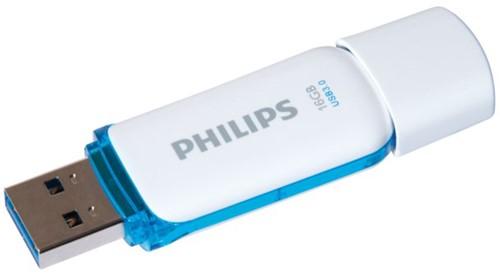 USB-STICK PHILIPS SNOW KEY TYPE 16GB 3.0 BLAUW 1 STUK