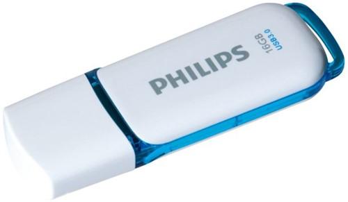 USB-STICK PHILIPS SNOW KEY TYPE 16GB 3.0 BLAUW 1 STUK-2