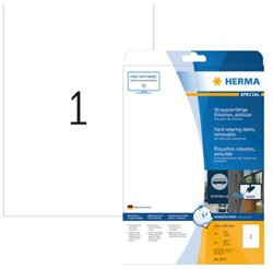 ETIKET HERMA 4577 210X297MM 20ST 20 VEL