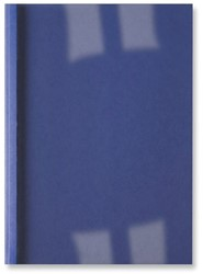 THERMISCHE OMSLAG GBC A4 1.5MM LINNEN DONKERBLAUW 100 STUK