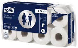 TOILETPAPIER TORK T4 2LAAGS ADVANCED WIT 64ROLLEN 110767 64 ROL