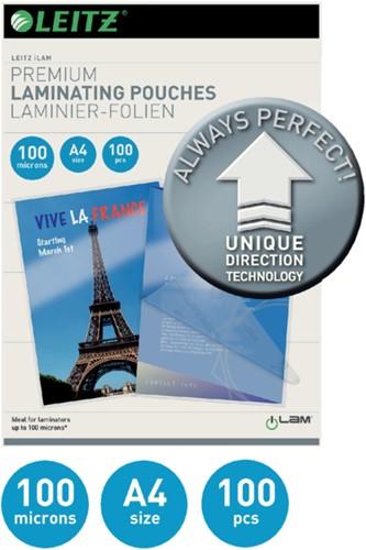 LAMINEERHOES LEITZ ILAM A4 2X100MICRON 100 STUK-2