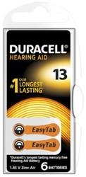BATTERIJ DURACELL DA13 HEARING AID 6 STUK